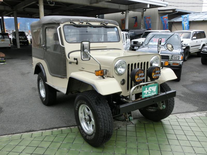 H10 Jeep J-55 最終生産記念モデル
