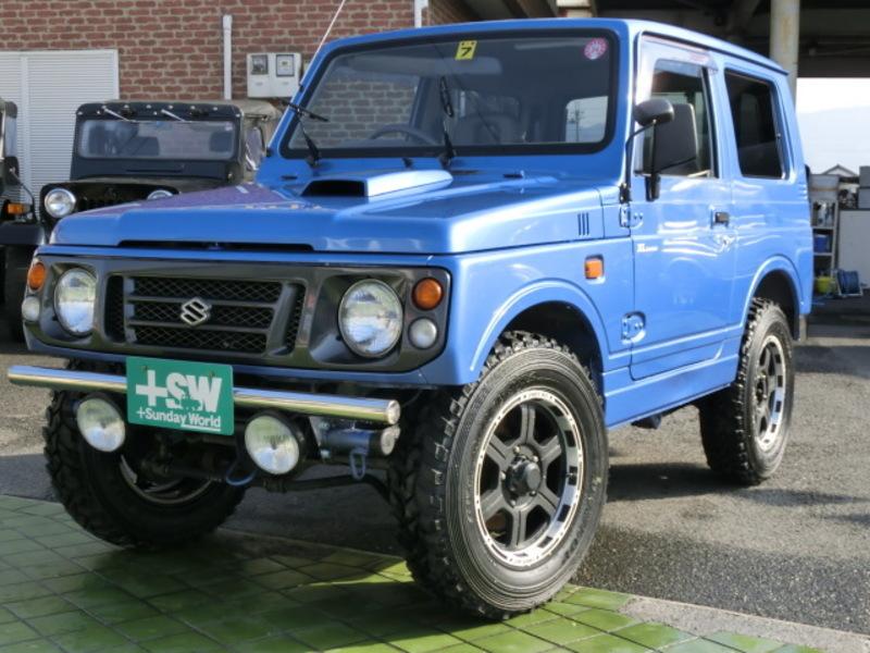 H9 ジムニーJA12 ブルー