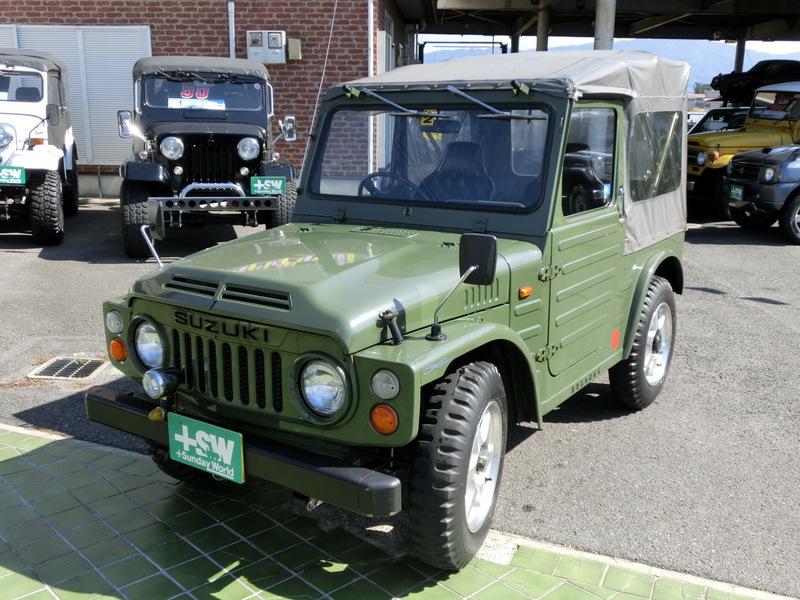 S55 ジムニーSJ10 緑