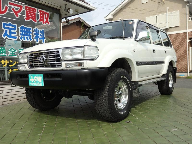 H9 ランクル80GX白