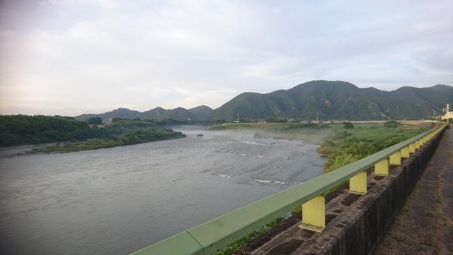 大雨 河川1
