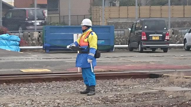 列車見張業務1