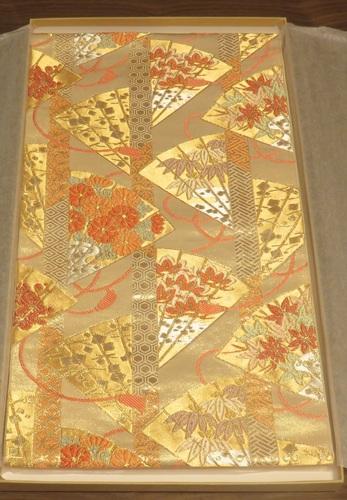 袋帯(川島織物・佐波理)0