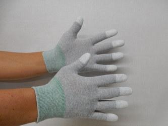 静電指先コーティング手袋1