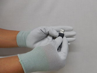 静電手の平コーティング手袋2