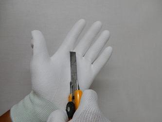 耐切創コーティング手袋1