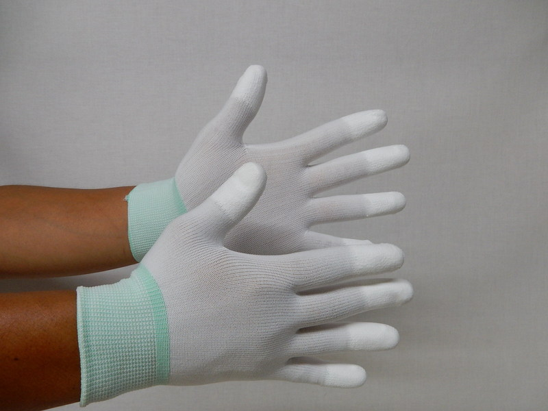 指先ウレタンコーティング手袋