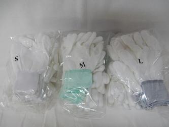 指先ウレタンコーティング手袋2