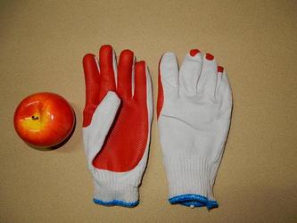 ゴム張り手袋3
