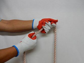 ゴム張り手袋2
